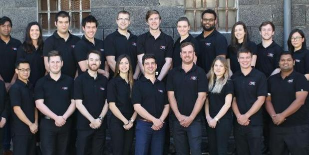 The crew, starting with seven students, has grown to a team of 30 but they're still among the smallest in the competition and definitely have the farthest to travel. Photo / RMIT