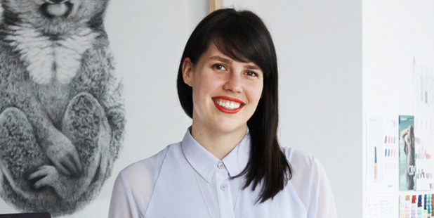 Former Dunedin woman Anna Ross won young Australian businesswoman of the year for her ethical range of nail polish.