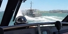 Watch: Watch: Charter boat Francie in action