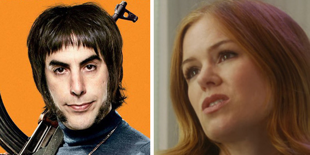 Loading Married couple Sacha Baron Cohen as Grimsby, left, and Isla Fisher as Karen Gaffney in their respective flops.