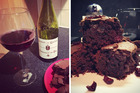How to make red wine chocolate brownies