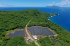 The new solar project on Ta'u has replaced costly and unreliable diesel generators. Photo / SolarCity