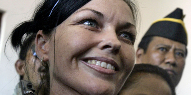 Schapelle Corby will be free to return to Australia in May next year. Photo / AP