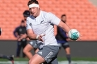 All Blacks prop Wyatt Crockett commenting on the All Blacks defensive effort and looking forward to France