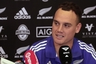 All Blacks outside back Israel Dagg commenting on his come back to the All Blacks and the upcoming test match against France in Paris.