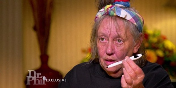Duvall also told Dr. Phil that people were trying to hurt her at night. Photo / Dr Phil