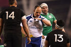 Paul O'Connell believes Malakai Fekitoa should have received a red card instead of a yellow. Photo / Getty