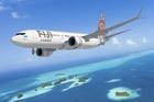 An artist's impression of Fiji Airways' new Boeing 737 MAX 8 planes.