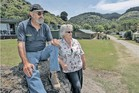 KUDOS: Bill and Anne Perry said money wasn't a factor in selling their Waipatiki Beach Holiday Park to the council.