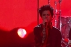 Donald Trump was referenced by Green Day, Jay Pharaoh, Idina Menzel and others at the American Music Awards.