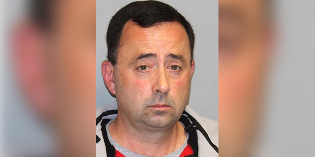 Former USA Gymnastics team doctor Larry Nassar, pleaded not guilty, to three counts of first-degree criminal sexual conduct in his home with a girl under 13. Photo / AP