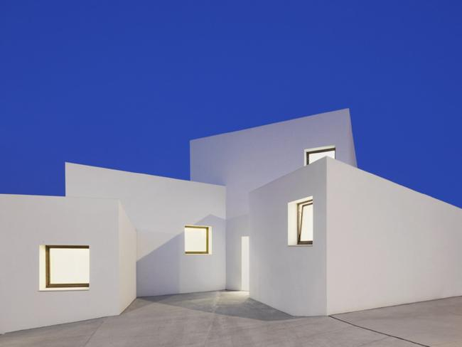 The home is divided into 'boxes' which can be used together or independently. Picture: José Hevia/OHLAB