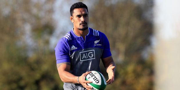 The All Blacks' season-ending Test with France is shaping up as a battle of the loose forwards, according to blindside Jerome Kaino. Photo / Photosport