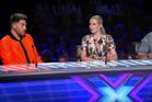 This year's X Factor Australia judges - Adam Lambert, Iggy Azalea and Guy Sebastian.