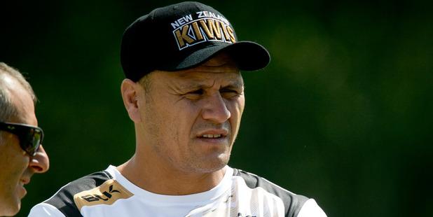 Kiwis coach David Kidwell.