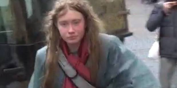 The woman, who told police in Italy that she is British and called Maria, aged 20, but has since been identified by her father. Photo / Missing Persons of America