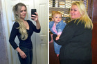 Alvina Rayne now looks incredible after losing 63 Kgs, she attributes her bullying ex to both her weight gain and weight loss. Photos / Caters News Agency