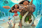 The portrayal of Maui, right, sparked controversy in the Polynesian community.