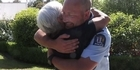 Watch: Watch: Accident survivor reunited with officer who was first on the scene