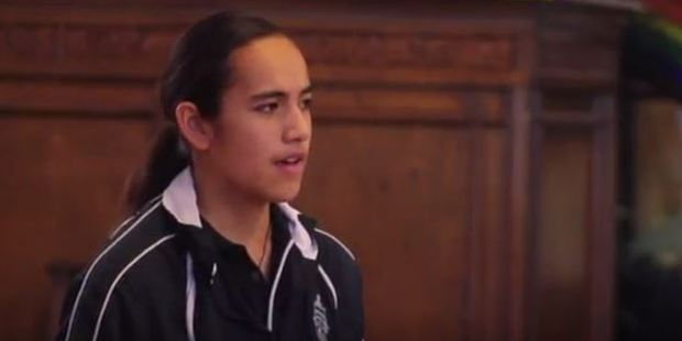 Loading Florence Akauola's speech won her the Villa Education Trust's speech competition. Photo / YouTube