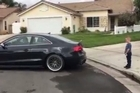 Source: LiveLeak. When his son asked his dad to pull his loose tooth with an Audi S5, and to film it, how could the father refuse when he's such a car enthusiast and would do anything for his son