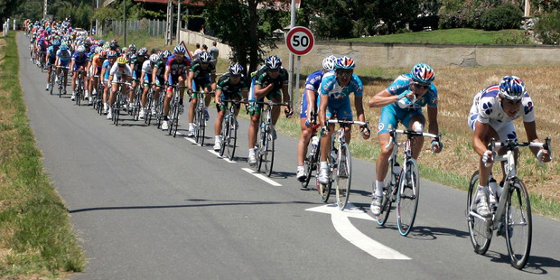 Demand for the Tour de France is running high this year, so enthusiasts will want to book now. Photo / Bloomberg