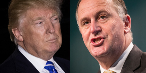 Political commentator Geoffrey Miller looks at five surprising similarities shared by John Key (right) and Donald Trump.