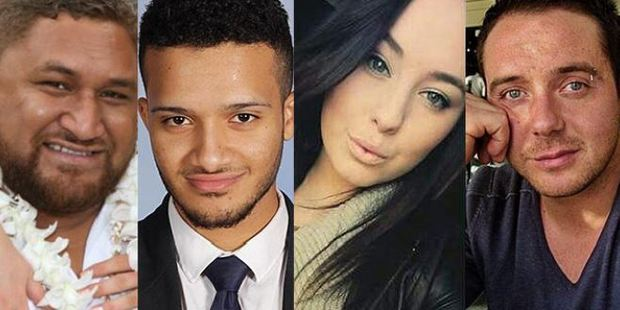 Loading Thunderstorm asthma victims: Clarence Leo, Omar Moujalled, 18, Hope Carnevali, 20, and Apollo Papadopoulos, 35 (left to right).