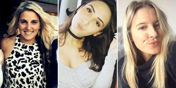 Gemma Flynn, Fatima Savea and Hannah Laity. Photos / Instagram