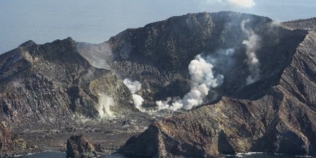 White Island remains at a volcano alert level of 1 despite an earthquake nearby this morning. Photo/file
