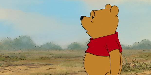 Winnie the Pooh reacts to learning of his latest reboot.