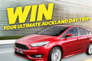 Win your Ultimate day trip in a 2016 Ford Focus Titanium