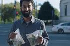 Krisna Andavolu, host of Weediquette, screening on Sky's new channel Viceland. Picture / Supplied