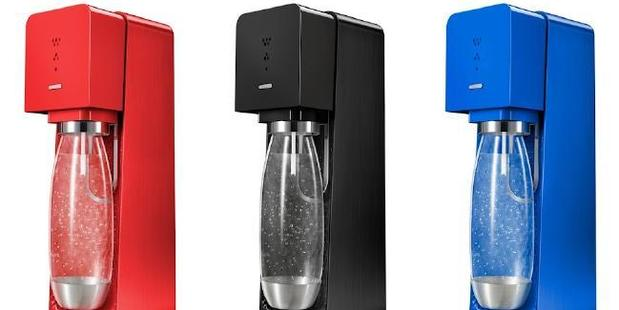 Sodastream turns regular tap water in to sparking. Photo / Supplied