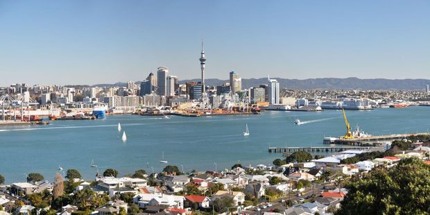 Auckland Mayor Phil Goff outlined a plan to implement a visitor levy on hotels and accommodation. Photo / 123rf