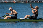 Olympic organisers have announced that they won't move the rowing venue 400kms away from Toyko in 2020. Photo / Photosport