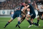 Brett Phibbs' best photos from the big clash against the French