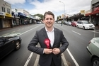 Michael Wood, Labour candidate for the Mt Roskill electorate.