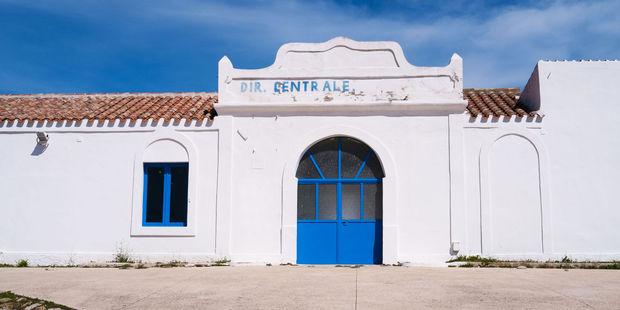 The former headquarters of the jail on Asinara island. Photo / 123RF