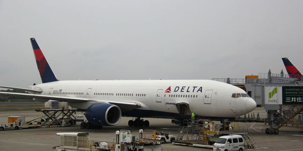 The incident occurred on a Delta flight from Atlanta to Allentown. Photo / 123RF