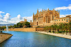 La Seu, the gothic medieval cathedral of Palma. Photo / 123RF