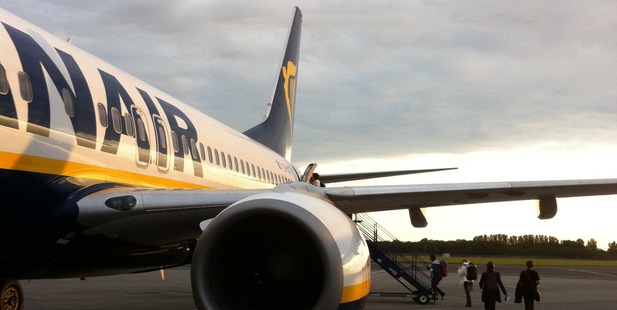 Ryanair boss Michael O'Leary has outlined his airline's plans to cut fares and fly ever more people. Photo / Creative Commons image by Flickr user Sean MacEntee