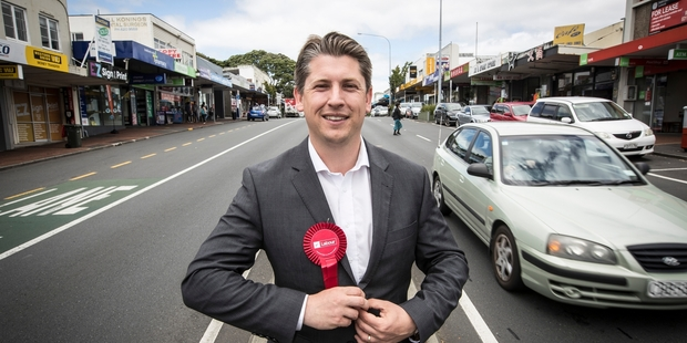Loading Michael Wood, Labour candidate for the Mt Roskill electorate. Photo / Michael Craig