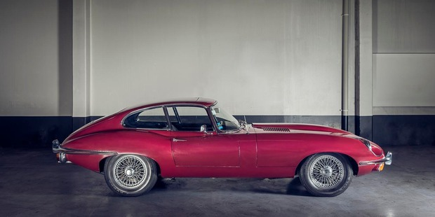 1969 Jaguar E-Type, estimated to go for up to NZ$105,000. Photo supplied.