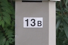 UNLUCKY FOR SOME: Some house buyers don't like number 13.PHOTO/FILE