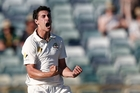 Fast bowler Mitchell Starc is a handful on home soil. Picture / AP