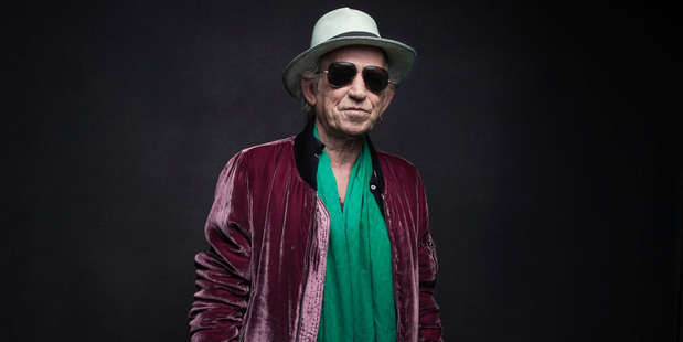 Keith Richards of the Rolling Stones. Photo/AP