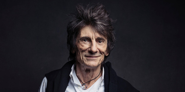 Ronnie Wood of the Rolling Stones. Photo/AP
