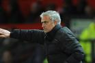 Manchester United manager Jose Mourinho. Photo / AP