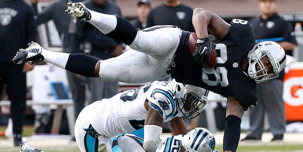 The Raiders are in form, just like Marc's picks. Photo / Ap